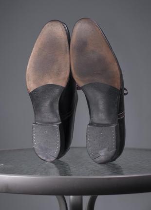 Оксфорды люкс класса crockett & jones, англия 42,5 мужские туфли броги8 фото