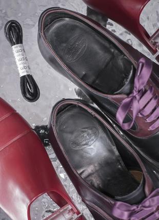 Оксфорды люкс класса crockett & jones, англия 42,5 мужские туфли броги7 фото