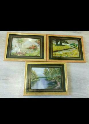 Картины с пейзажем.