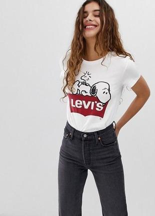 Оригинальная футболка от levi's snoopy