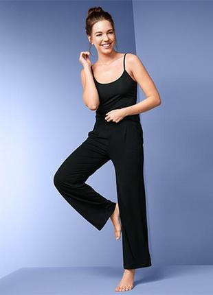 Легкие повседневные женские брюки tcm tchibo германия размер 44-46