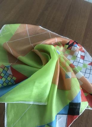 Хустка платок бандана натуральний шовк