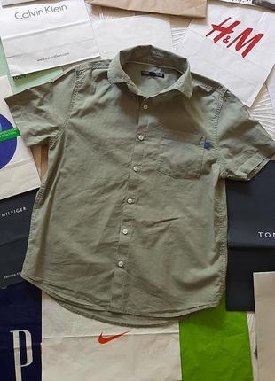 🐬стильная хлопковая лёгкая рубашка