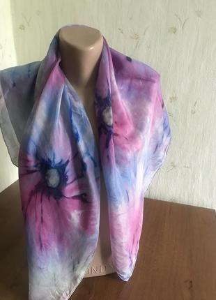 Хустка платок натуральний шовк