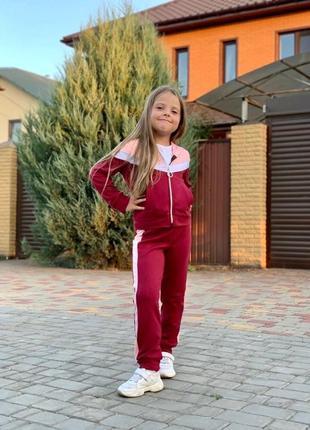 Спортивный костюм для девочки №780
