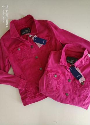 Классная фирменная джинсовка куртка от бренда  cecil, m