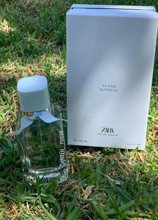 Духи zara ylang supreme /парфюм/туалетная вода/парфуми/духи зара1 фото