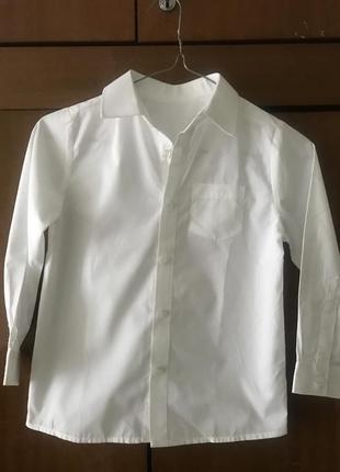 Сорочка на хлопчика 7-8 років рубашка