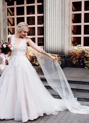 Свадебное платье anda цвет айвори