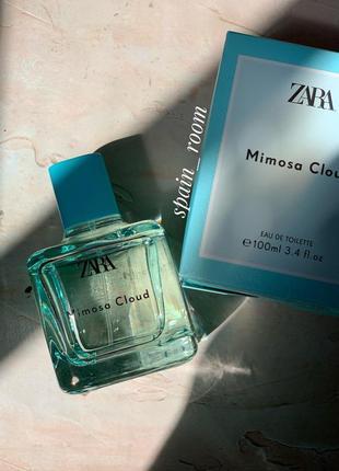 Духи zara mimosa cloud/парфуми/парфюм/туалетная вода /парфуми