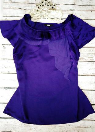 Новая шелковая блуза marks&spencer