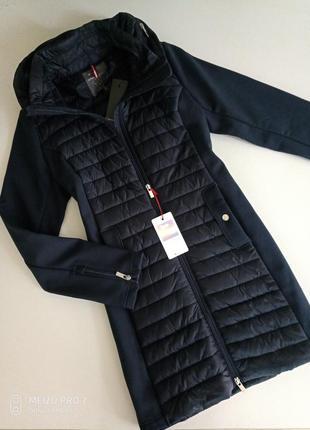 Фирменная куртка софтшел на флисе от немецкого бренда street one