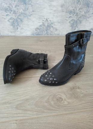 Ботинки sacha натуральная кожа казаки