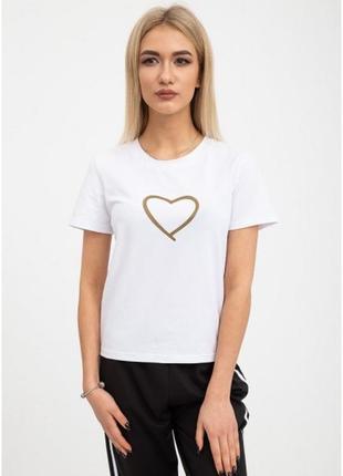 Жіноча футболка сердце