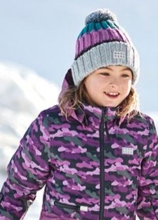 Зимняя лыжная мембранная куртка курточка для девочки р.104,116 lego wear reima lenne