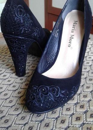 Туфли вечерние #вышивка