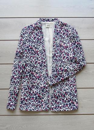 Красивый жакет пиджак в леопардовый принт  от papaya