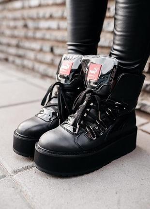 Ботинки puma x fenty by rihanna sneaker boot black