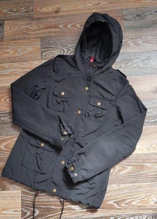 Куртка h&m devided осень-весна черная унисекс