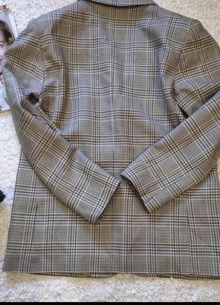 Итальянский шерстяной пиджак оверсайз / жакет / трендовый пиджак2 фото