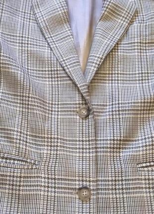 Итальянский шерстяной пиджак оверсайз / жакет / трендовый пиджак5 фото