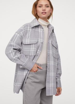 Куртка-рубашка из фетра