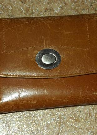 Кожаный кошелек/портмоне