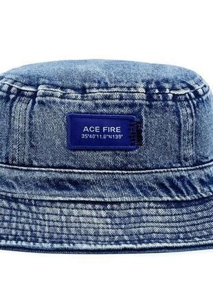 """Панама джинсовая синяя""""ice fire"""""""