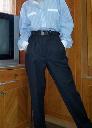 Винтажные шерстяные брюки gil bret шерсть