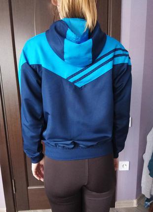 Куртка ветровка дождевик с капюшоном lonsdale