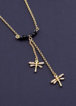Подвеска медицинское золото xuping jewelry jewelry агат 40 см. покрытие позолота