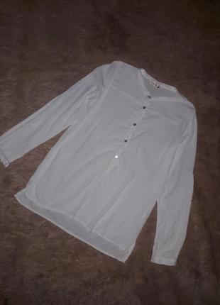 Белая рубашка блузка блуза