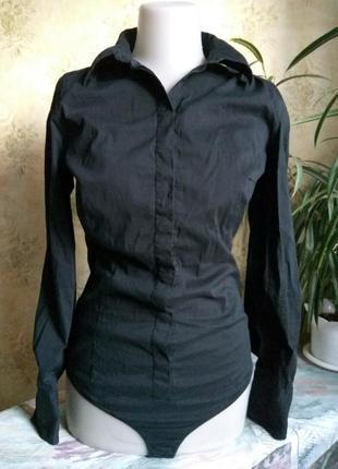 Inwear блуза рубашка сорочка боди стринги скрытая планка *
