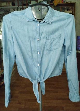 Рубашечка легкая под джинс