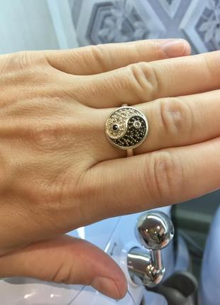Кольцо серебряное в бохо стиле , этническое украшение
