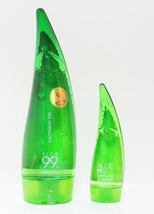 Holika holika aloe 99% soothing gel гель алое