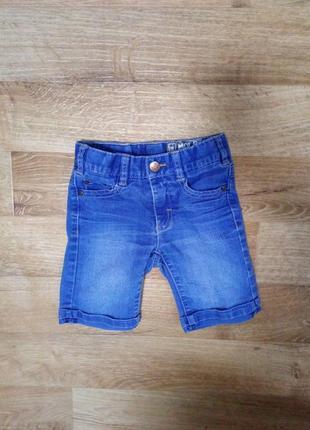 Джинсовые шорты, шорти на модника 4-5 лет идеальное состояние
