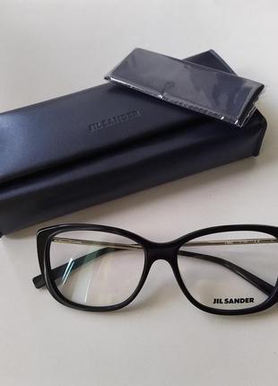 Новая оправа jil sander оригинал очки премиум жиль сандер made in italy cateye