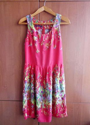 Яркое летнее платье украинского производителя