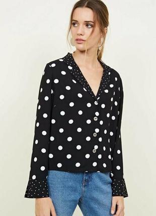 "Блуза из плотного шифона ""new look"""