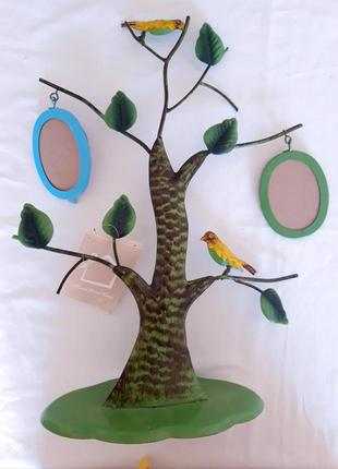 Фоторамки на маталлическом дереве, очень красивые