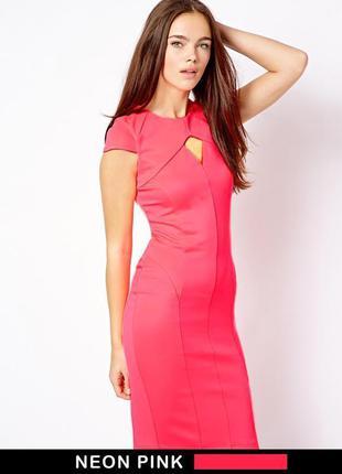 Платье миди бренд цвет  pink до 10.06