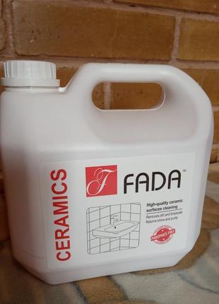 """Засіб мийний для ванних кімнат """"fada кераміка"""","""
