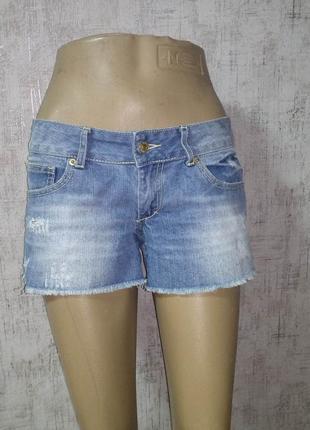 Шорты джинсовые m размер женские no name