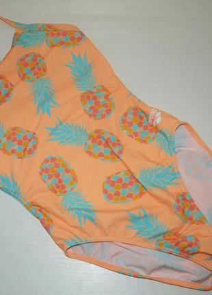 Сплошной купальник arena сдельный купальник принт ананас