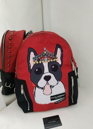 Рюкзак в стиле dg,  dolche gabbana! хит продаж