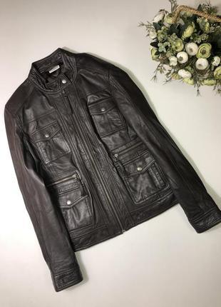 Кожаная куртка streetone размер с-м состояние идеальное
