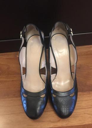 Туфли bally, натуральная кожа