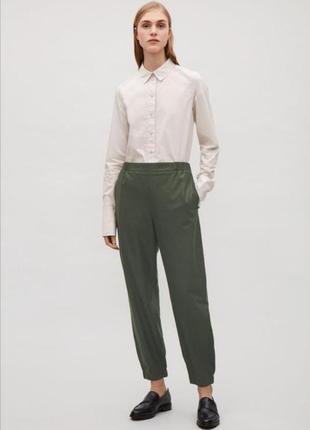 Фирменные шерстяные брюки cos