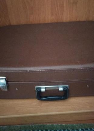 Чемодан ретро винтаж валіза
